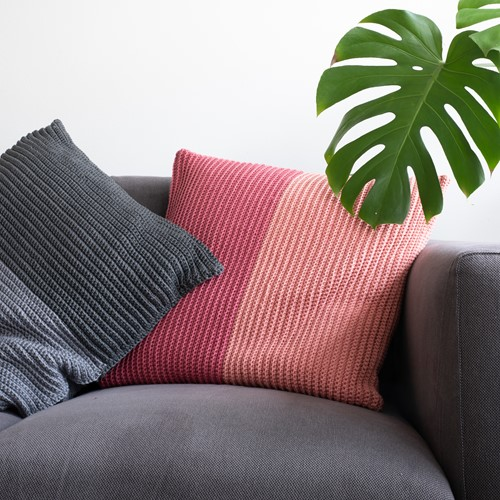 Two Tones Comfy Cushion