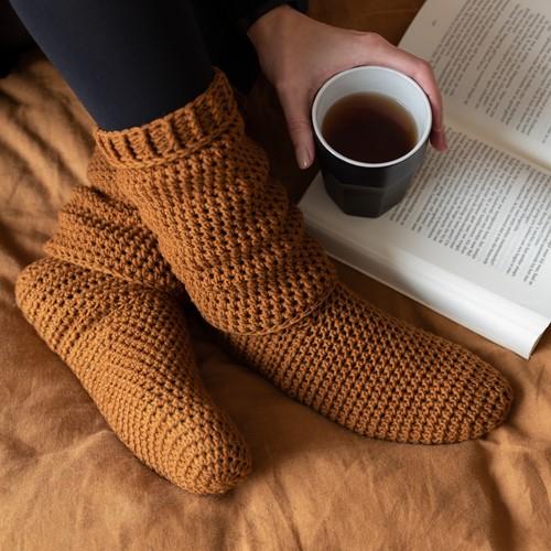 A4 PDF Soft Serene Socks