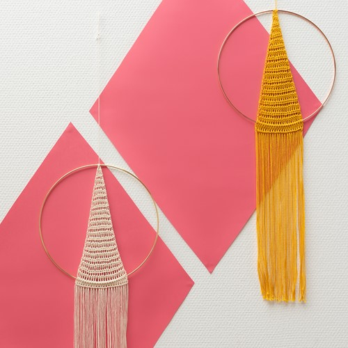 A4 PDF Must-Have Triangle Wall Hanging