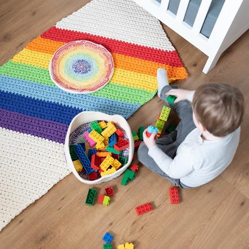 A4 PDF Rainbow Rug