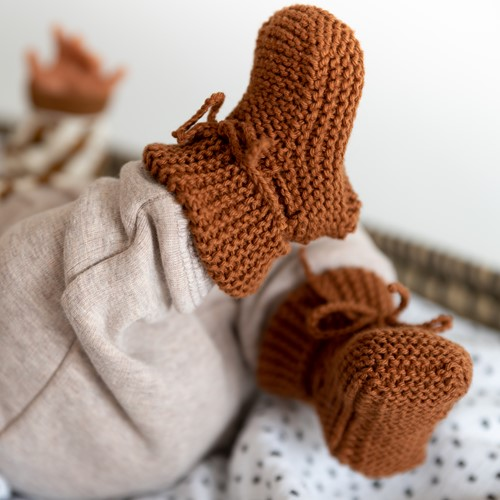 Oh Baby! Knit Booties