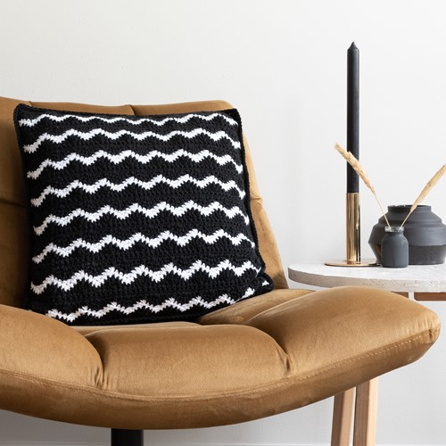 Waves Comfy Cushion