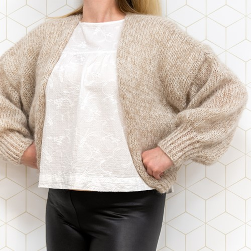 Cloud Cardigan Knit