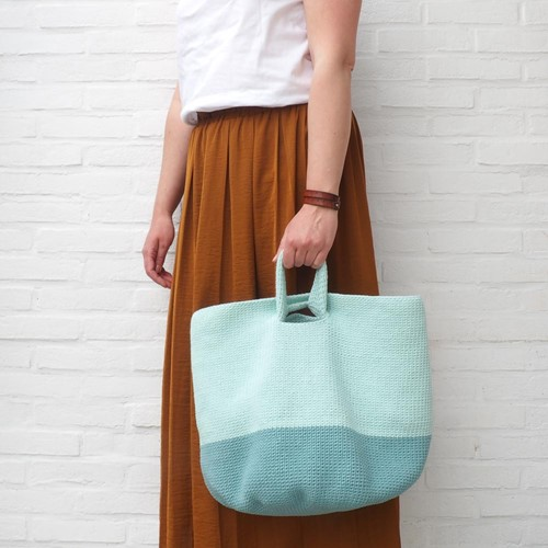 Slouchy Pouch Color Block