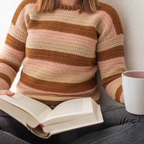 Sunset Stripes Sweater