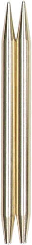 Gold needle tips 6.5mm