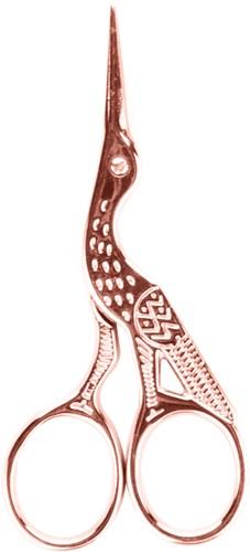 Rosé bird scissor