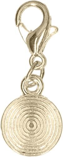Gold Circle charm