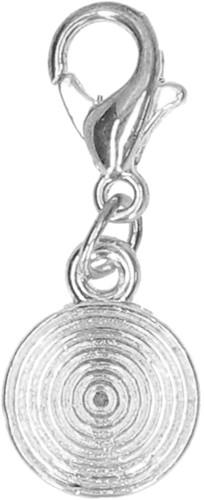 Silver Circle charm