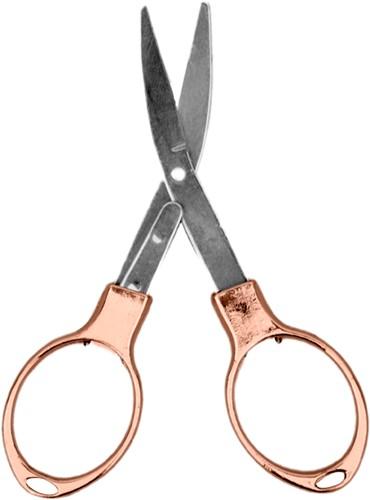 Rosé foldable scissor