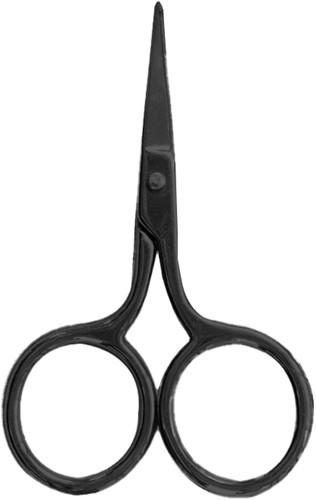Black tiny scissor